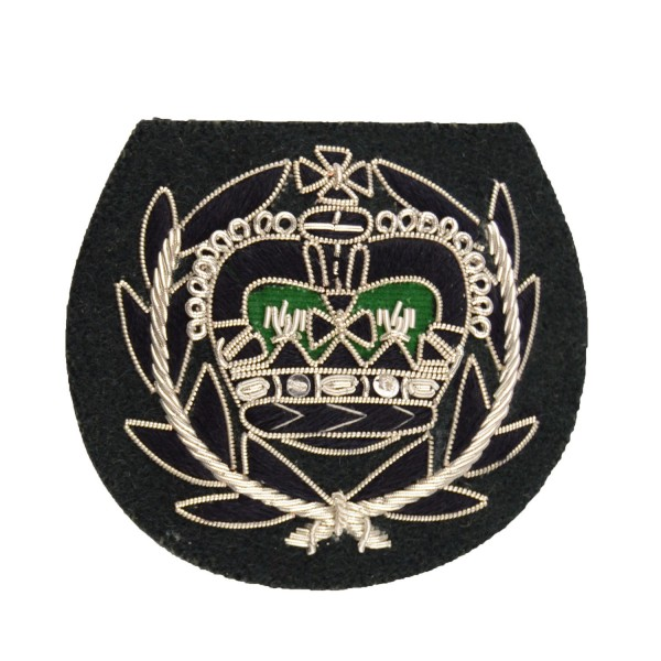 Rifles Crown and Wreath – Rank – The Rifiles - Infantry - British Army Badge