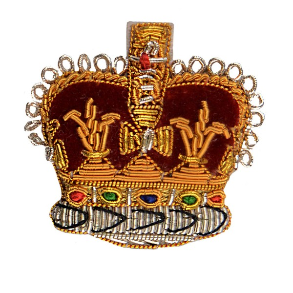 Officer Crown – Rank Badge - Household Division - Foot Guards - British Army Badge