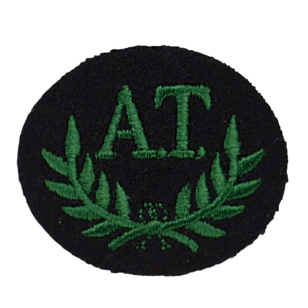 Anti-Tank Gunner Green – Qualification – Royal Irish Regiment - Infantry - British Army Badge