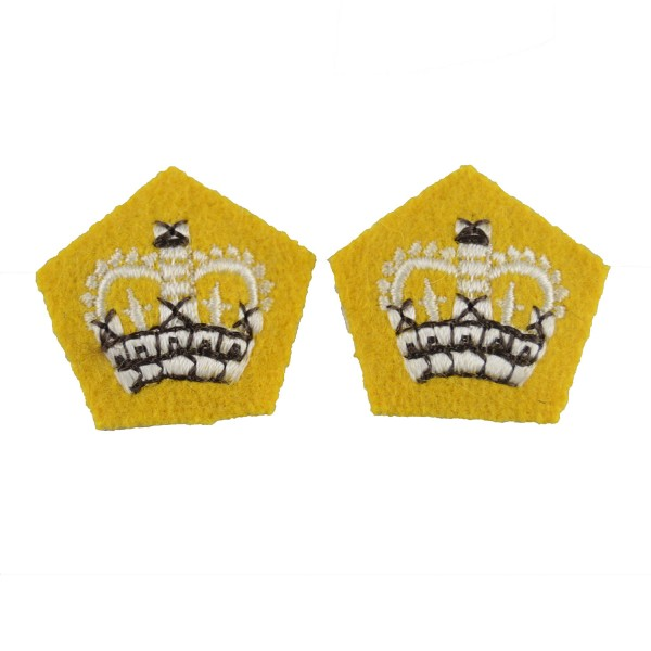 Crown Pip - Rank Badge - Household Cavalry - British Army Badge