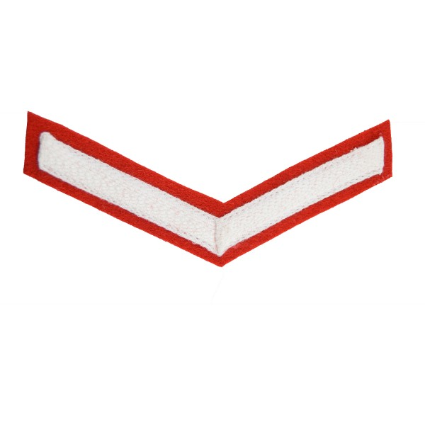1 Bar Chevron Lance Corporal (LCpl) – Service Stripe - Bands of the Army - British Army Badge