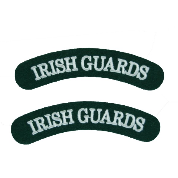 Irish Guards – Shoulder Title Flash – British Army Badge