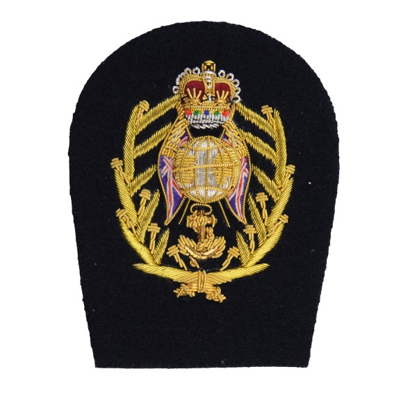 Colour Sergeant (CSgt) – Rank - Royal Marines (RM) - Royal Navy Badge