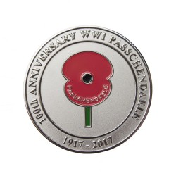 World War 1 Battle of Passchendaele Commemorative Coin