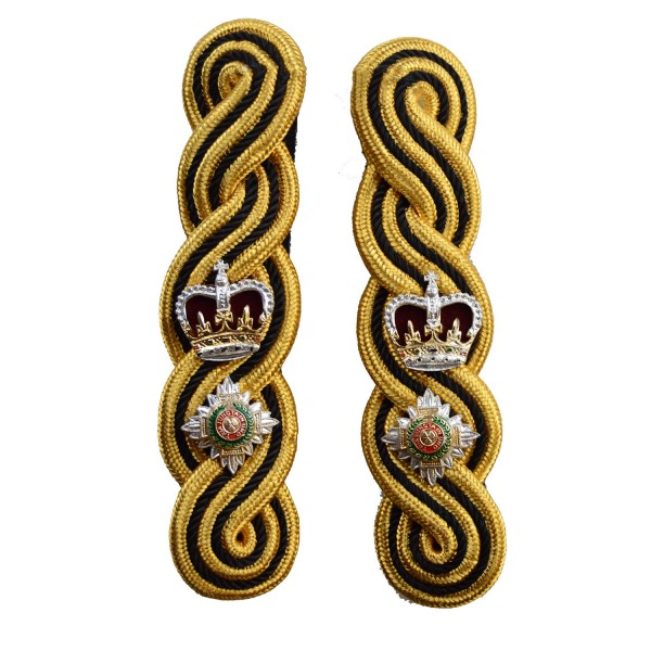 Infantry Regiments Lieutenant Colonel Epaulette - Black and Gold