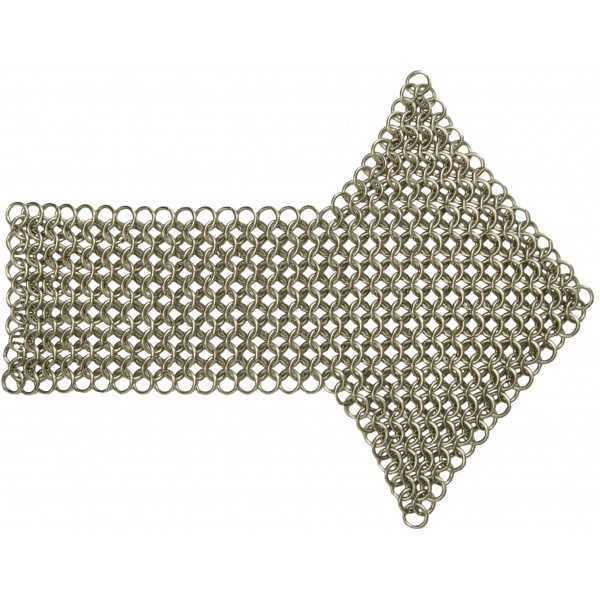 Chainmail Metal Epaulette - Royal Armoured Corps - Silver - British Army