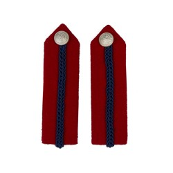 Deputy Lord-Lieutenant No. 1 Dress - Red/Blue Gorgets