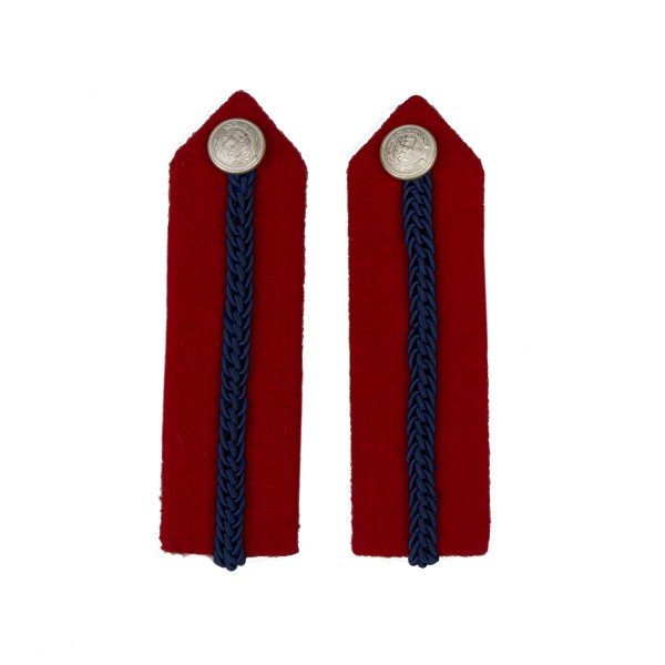 Deputy Lord Lieutenant No. 1 Dress - Red/Blue Gorgets