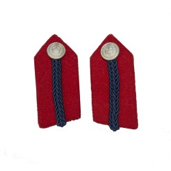 Deputy Lord-Lieutenant No. 2 Dress - Red/Blue Gorgets