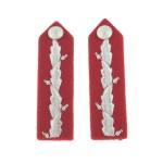 Lord-Lieutenant No. 1 Dress - Red/Silver Gorgets
