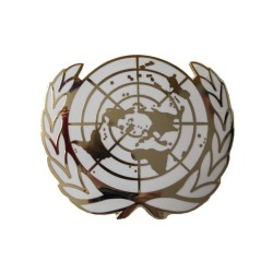 United Nations (UN) Enamelled Beret Badge