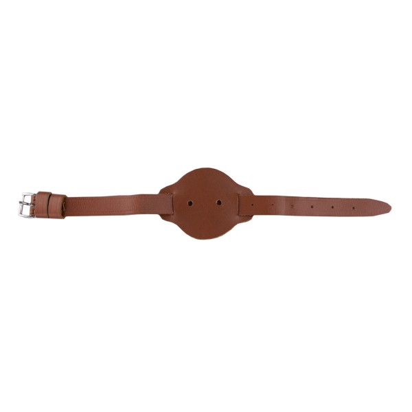 Large Warrant Officer (WO) Leather Wrist Strap - Royal Navy / British Army