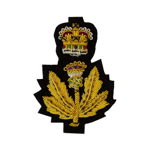 Scottish Thistle - Lord-Lieutenant Cap Badge - Hand Embroidered