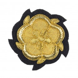 Vice Lord/ Lieutenant/ Deputy Lieutenant Gold Rose Rank Cap Badge