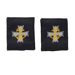 Chaplain (CHAPS) / Padre- Slider Epaulette - Royal Navy Badge