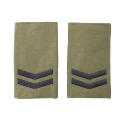 Corporal Olive Green Slider Epaulette Badge - Sea Cadets
