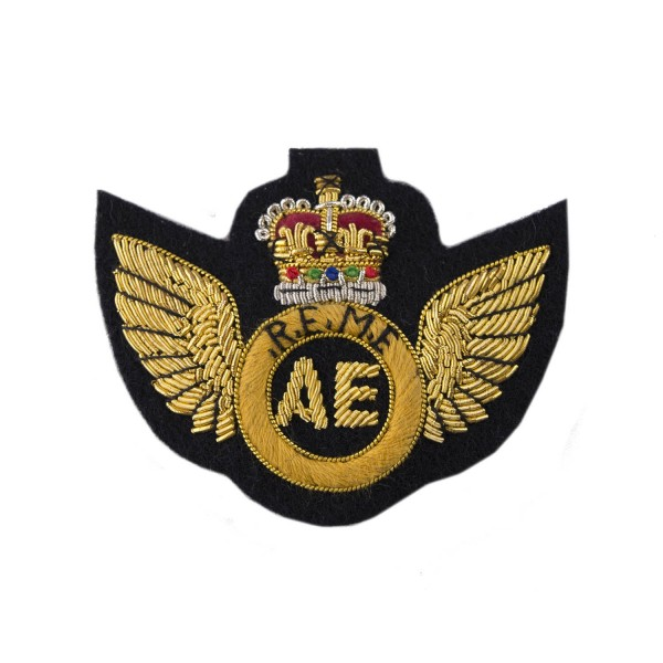 Aircraft Engineers - Qualification Badge - Royal Electrical and Mechanical Engineers - REME - British Army Badge