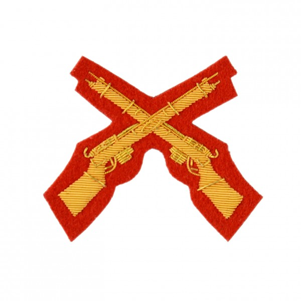 Tactics and Weapon Training Instructors - Rifle Marksman - Qualification Badge - Blue and Royals - Royal Horse Artillery - British Army Badge