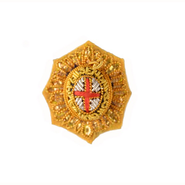 Officer Garter Star – Rank Badge - Household Division - Foot Guards - British Army Badge