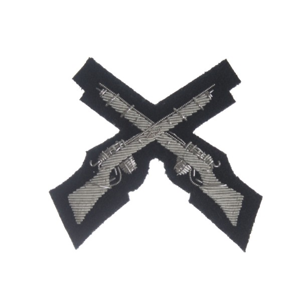 Qualified Tactics and Weapon Training Instructors - Rifle Marksman - Qualification Badge - Light Infantry - British Army Badge