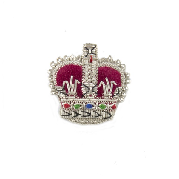 Officer Crown – Rank Badge - Household Division - British Army Badge