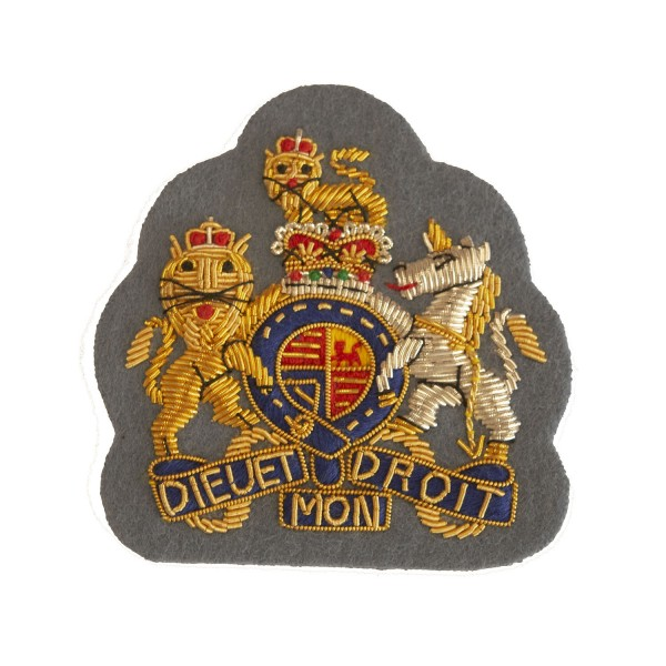 Officer Royal Arms - Warrant Officer Class 1 (WO1)  - Army Air Corps - British Army Badge