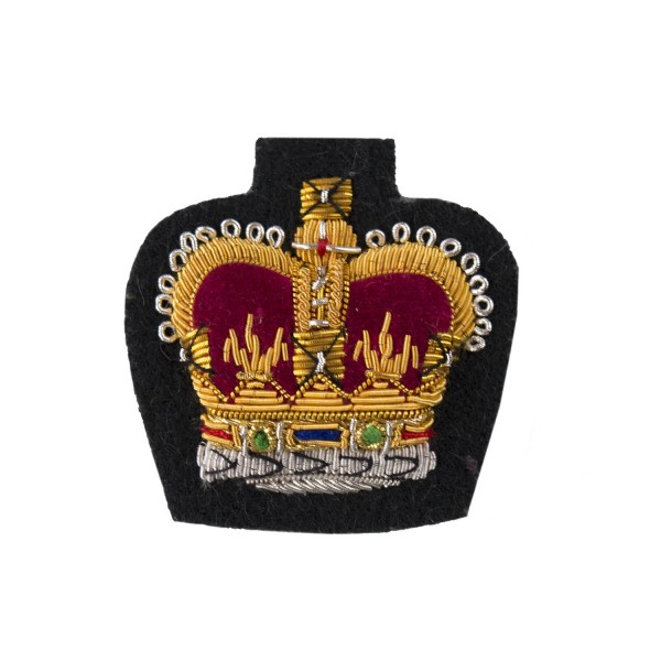 QMS, CSgt and SSgt - NCO's - Small Crown – Rank Badge - All Scottish Infantry - British Army