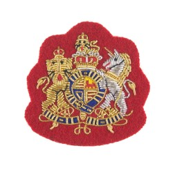 Royal Arms British Army Badge - Regimental Corporal (Cpl) and Farrier Corporal Major - Royal Horse Guards/ Dragoons