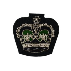 Rifles Small Crown – Rank – The Rifiles - Infantry - British Army Badge