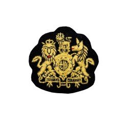 Royal Arms Badge - Regimental Corporal (Cpl) Major and Farrier Corporal (Cpl) Major - HCav