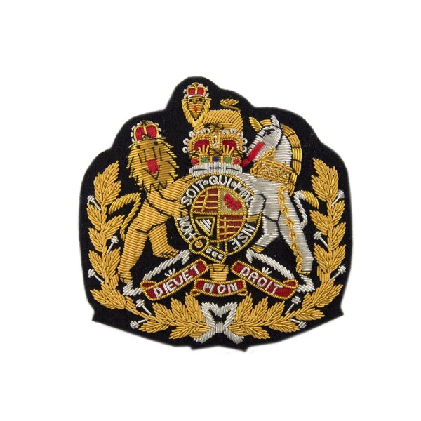 Corps and Command Regimental Sergeant Major (RSM) - Royal Arms - Rank Badge -  British Army and Royal Marines