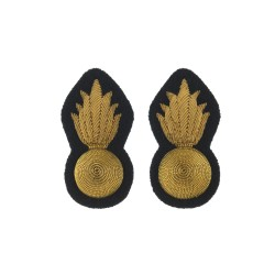 Grenadier Guards Sergeant and Colour Sergeants Collar Badge - Organisation Insignia - British Army