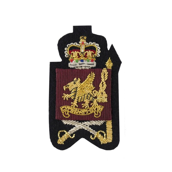 Colour Sergeants and Company Quartermaster Sergeants  – Rank Badge - Welsh Guards - British Army