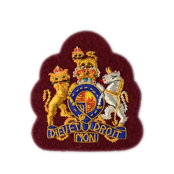 Warrant Officer Class 1 (WO1) - Rank -  Kings Royal Hussars - British Army Badge