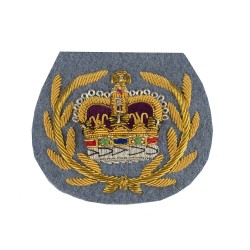 Army Air Corps (WO2) - Crown and Wreath - Rank Badge - NCO - British Army Badge