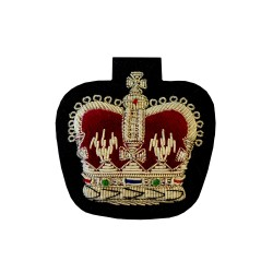 Warrant Officer Class 2 (WO2) and NCO - Large Crown Rank Badge - British Army