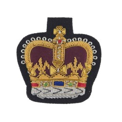 Large Crown Rank Badge - Warrant Officer Class 2 (WO2) and NCO - British Army