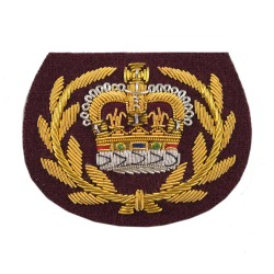 Kings Royal Hussars Warrant Officer Class 2 (WO2)/ Non Commissioned Officer (NCO) - British Army Rank Badge