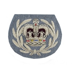 Small Arms School Corps (WO2) - Crown and Wreath - Rank Badge - Combat Service Support - British Army Badge