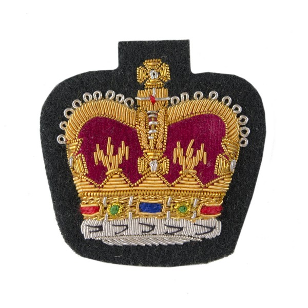 All Scottish Regiments Large Crown Rank Badge - Warrant Officer Class 2 (WO2) and NCO - British Army