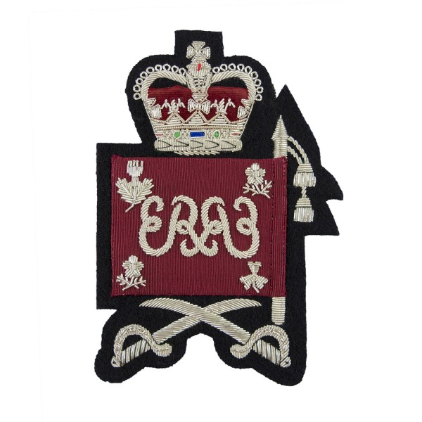 Warrant Officer Class 2 (WO2) Colours Rank Badge - Honourable Artillery Company (HAC) - Non Commissioned Officer British Army