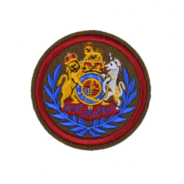 Conductor - Royal Logistics Corps, Warrant Officer Class 1 (WO1), Royal Arms in Wreath British Army Rank Badge