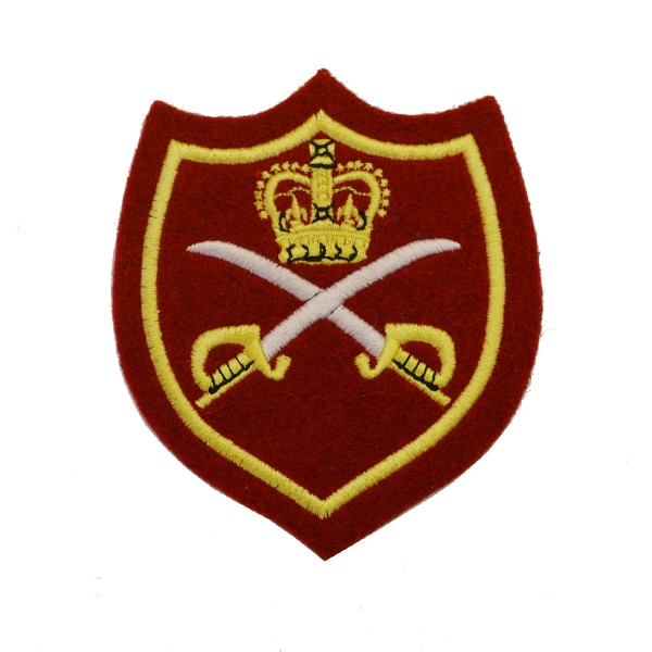 Physical Training Instructor (PTI) - Warrant Officer 1 (WO1) – Qualification - British Army Badge