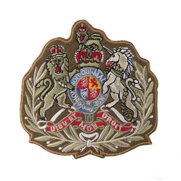 Regimental Sgt Major - Royal Arms - Army Corps and Army Command - Rank Badge - British Army