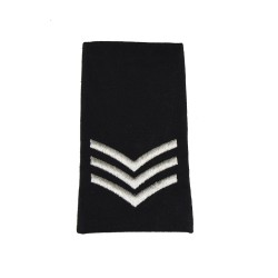 Sergeant (Sgt) - Slider Epaulette - Royal Logistic Corps - British Army