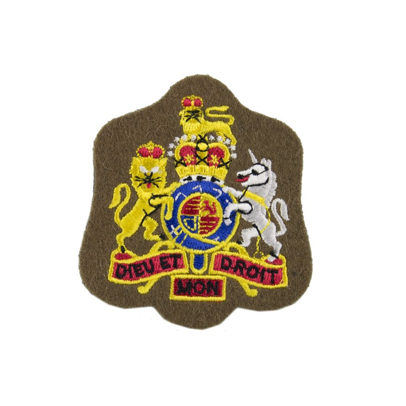 Warrant Officer Class 1 Wo1 Royal Arms Rank Badge British Army