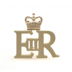 EIIR Large Gold Royal Cypher and Crown - British Army