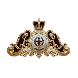 Life Guards Officers Metal Badge for Ammunition Pouch - British Army
