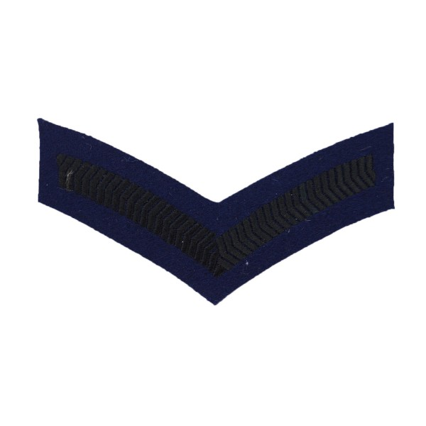 1 Bar Chevron Lance Corporal (LCpl) – Service Stripe – Queens Gurkha Signals - Brigade of Gurkhas - British Army Badge