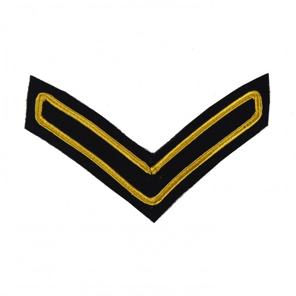 1 Bar Chevron Lance Corporal (LCpl) – Service Stripe – Household Division - Household Cavalry - British Army Badge